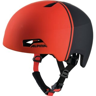 Alpina - Fahrradhelm Alpina Hackney black-red Gr.51-56
